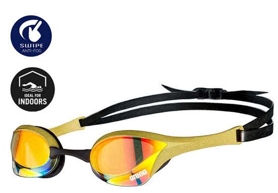 3c19c637a Montura con un exclusivo diseño dorado. Gafas disponibles con lentes claras  y oscuras.
